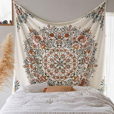 Bohemian Decor Floral  Wall Hanging