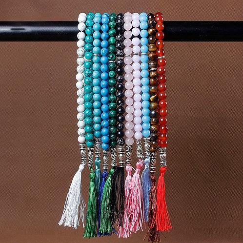 Natural Stone  Prayer Beads