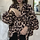 Thumbnail: Polka Dot Blouse Lantern Sleeve (Plus Sizes Available)