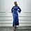 Thumbnail: Flare Sleeve, Ruffled Maxi Dress
