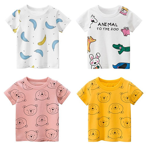 Cotton Kids T-Shirt Sizes 2-7years