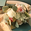 Thumbnail: Artificial Silk Flowers Rose Eucalyptus Hybrid Bouquet