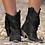 Thumbnail: Fringe Ankle Boots