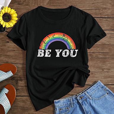 Be You Rainbow T Shirt