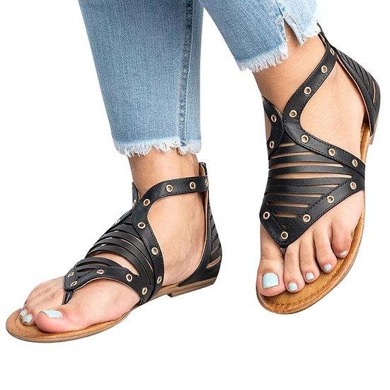 Studded Strap Sandals