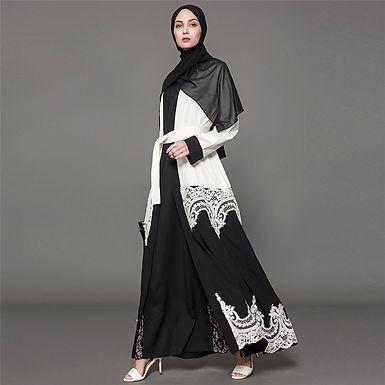 Black and white Lace Jacket