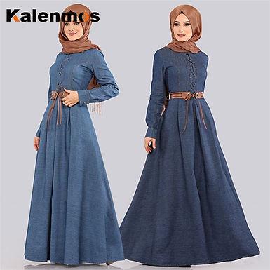 Denim Maxi Dress