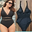 Thumbnail: Mesh Insert Plus Size Swimsuits