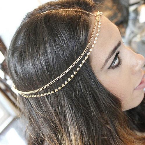 Multilayer Boho Head Chain