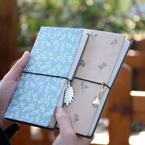 Flower Notebook Journal Blank Pages