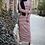 Thumbnail: Striped long sleeve t-shirt maxi dress