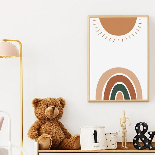 Wall Art Posters Prints for Kids