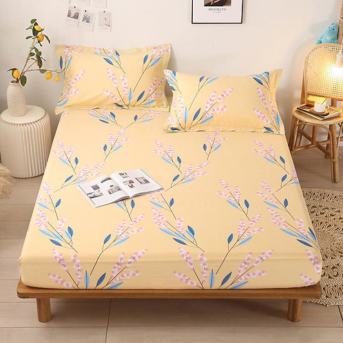 Fitted Bed Sheets 100% Cotton (Variety of patterns available)