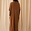 Thumbnail: 2 Pieces Knitted Turtle Neck long sleeve dress and Cardigan