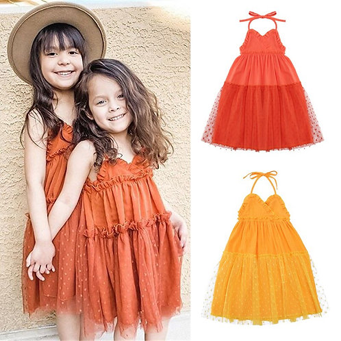 Party Lace Tulle Dress Sizes 2-6 years