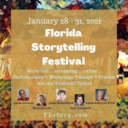 A&N 3 Florida Storytelling Festival 2021