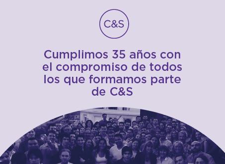 C&S cumplió 35 años