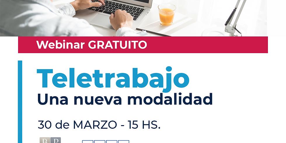 Webinar sobre Teletrabajo