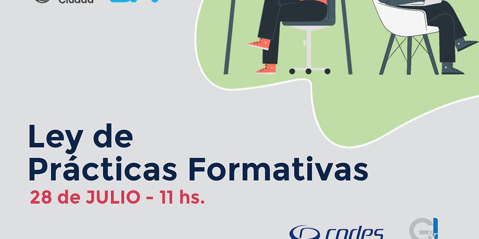 Webinar: Ley de Prácticas Formativas