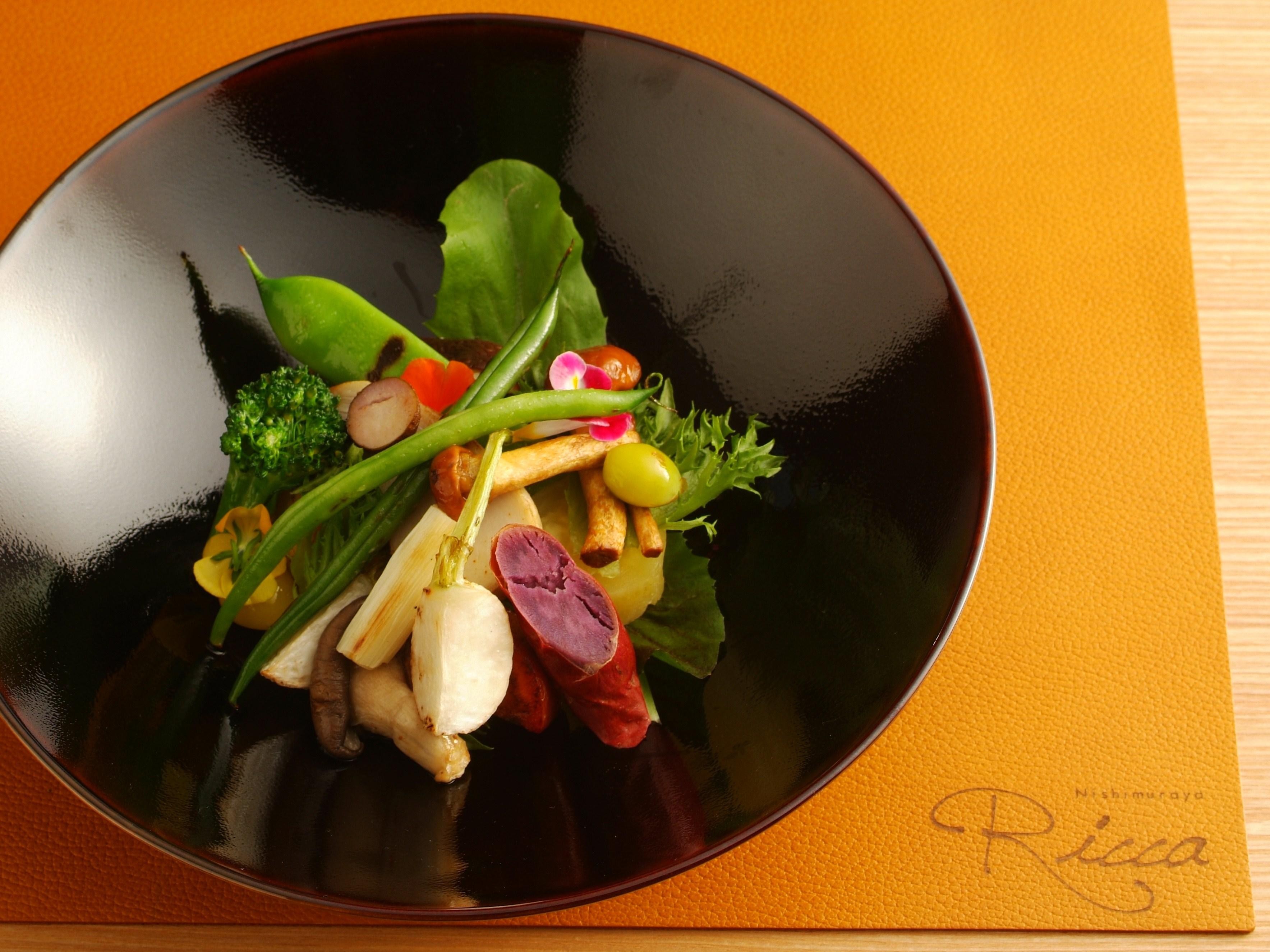 冬野菜温サラダ
