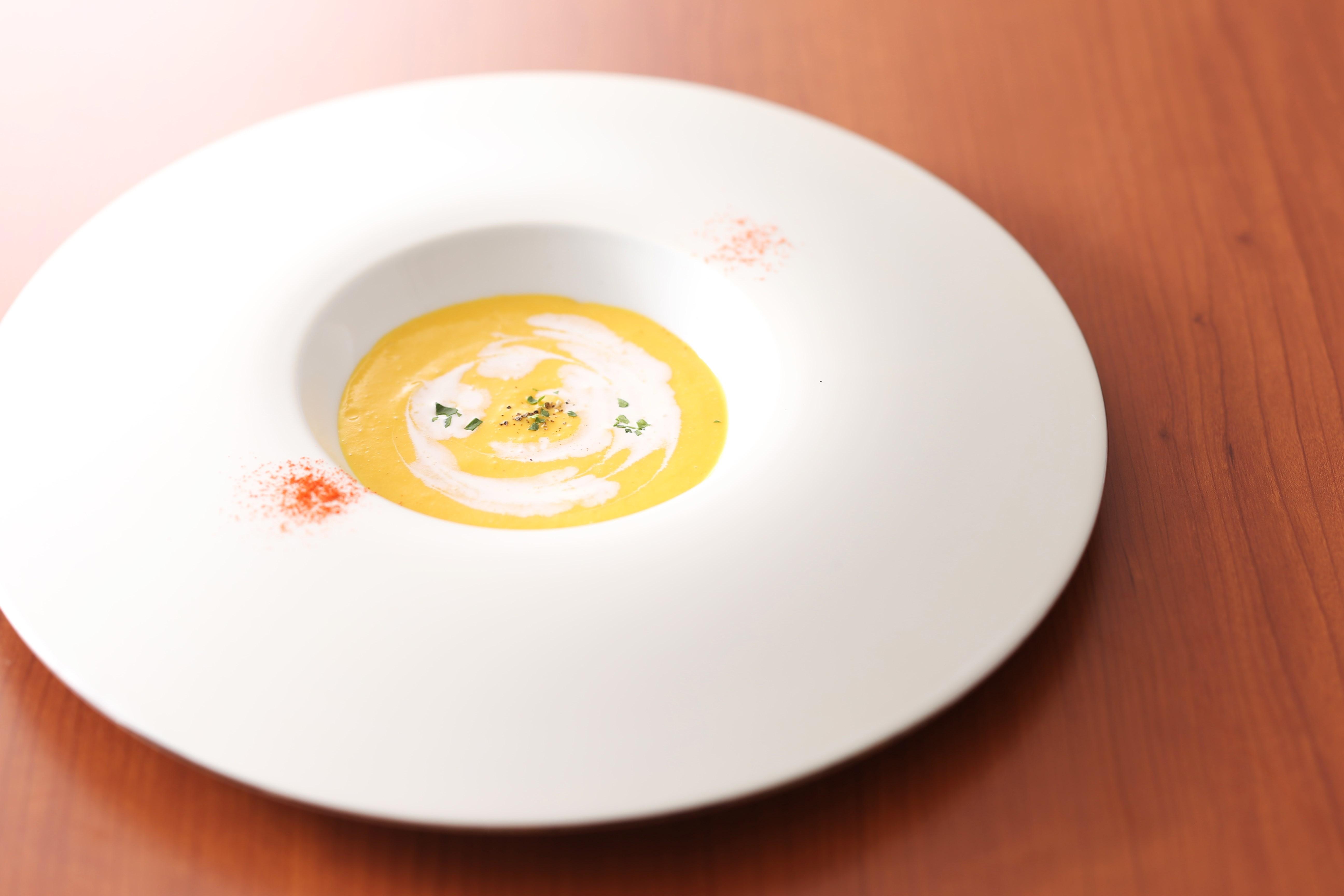 Riccaスープ(人参のポタージュ2016)2