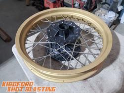 Cerakoted wheel