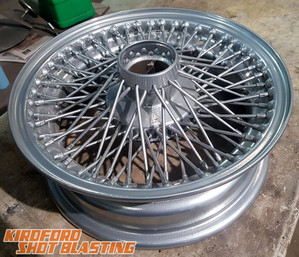Chrome powder Coat Wire Wheel