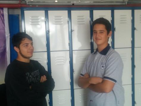 Llegaron los lockers