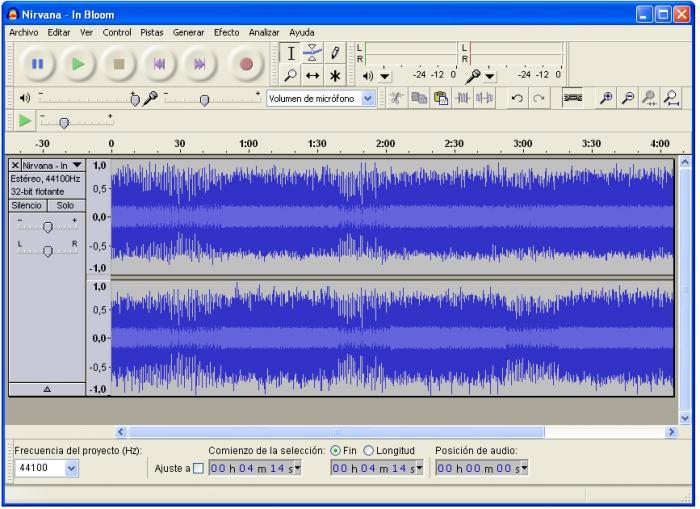 Edición de audio