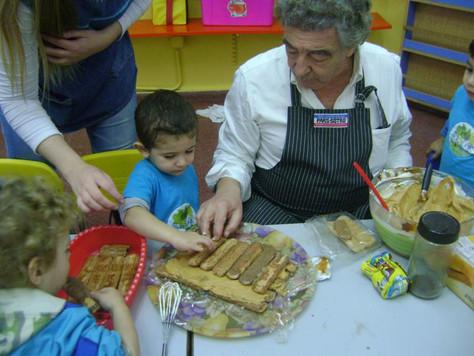 Cocinando con los abuelos