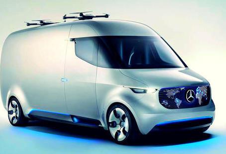 Livraison du futur: des drones associés à un véhicule électrique