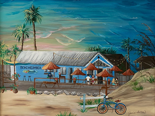 """Beachcomber Restaurant"" Print"