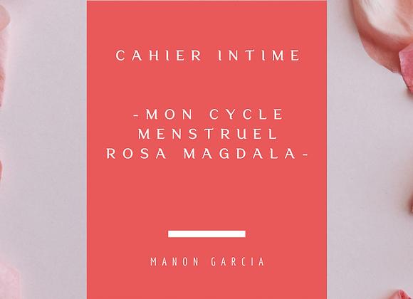 Mon cahier Intime Rosa Magdala