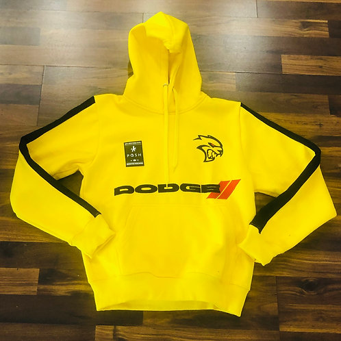 OFFICIAL DODGE SRT YELLOW HOODIE