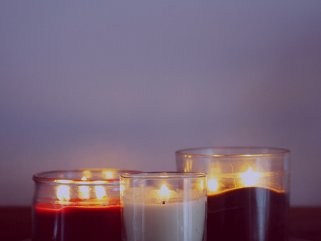 A Note About Candles