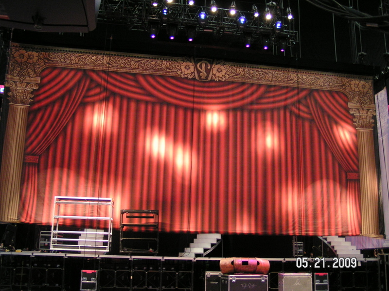 Taylor Swift's Backdrop