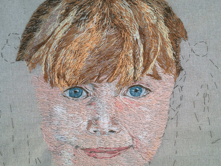 Embroidered Art: Portraiture and Self-Portraiture