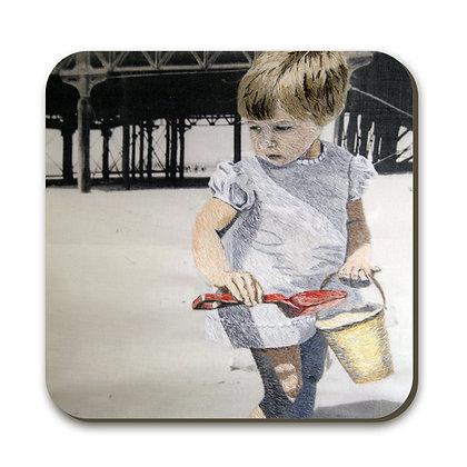 Coaster  - Self Portrait 1970