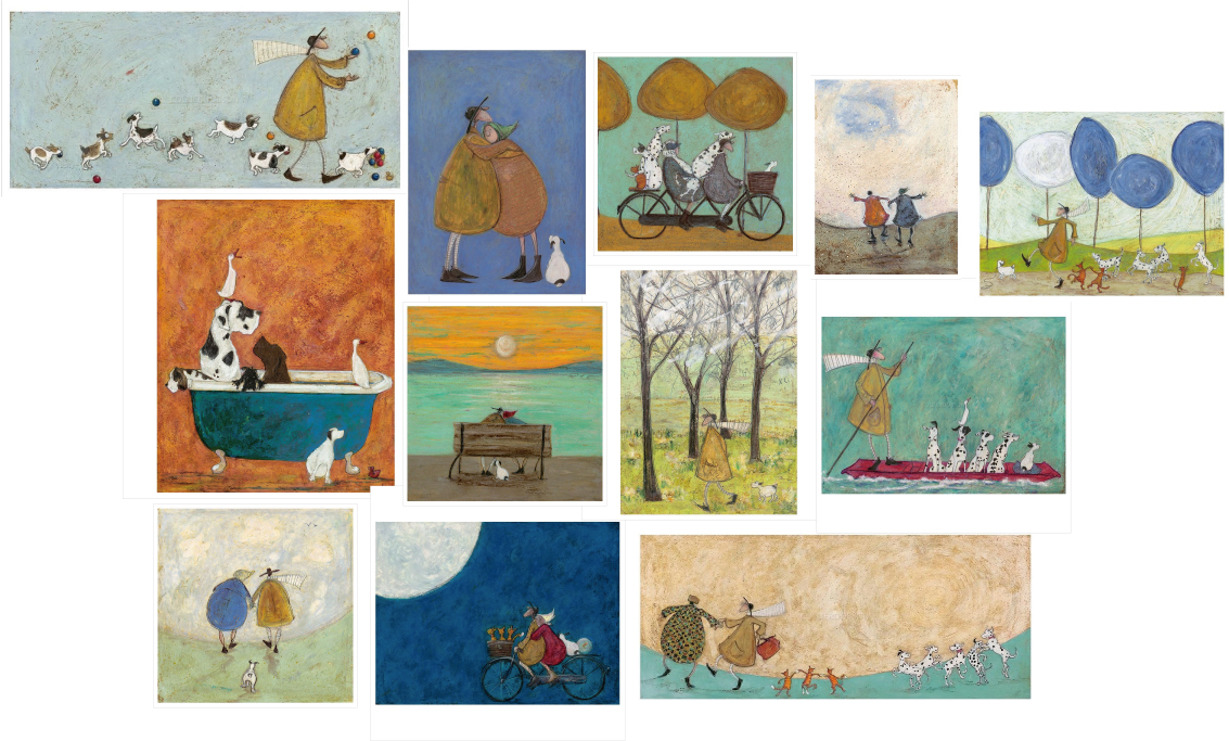 Lithographs by Sam Toft from UK
