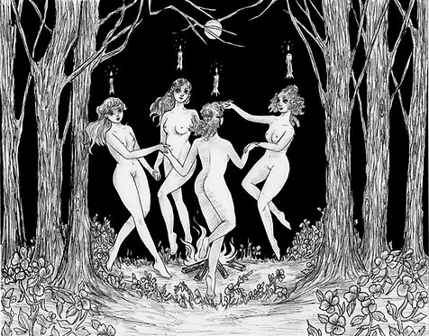 The Witching Hour Fine Art Print