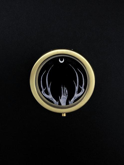 Wendigo Moon Solid Perfume Case