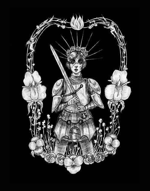 Jeanne D'Arc; la Pucelle de Orleans Fine Art Print