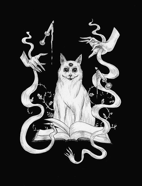 Book of Shadows Fine Art Print
