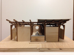 model of teahouse