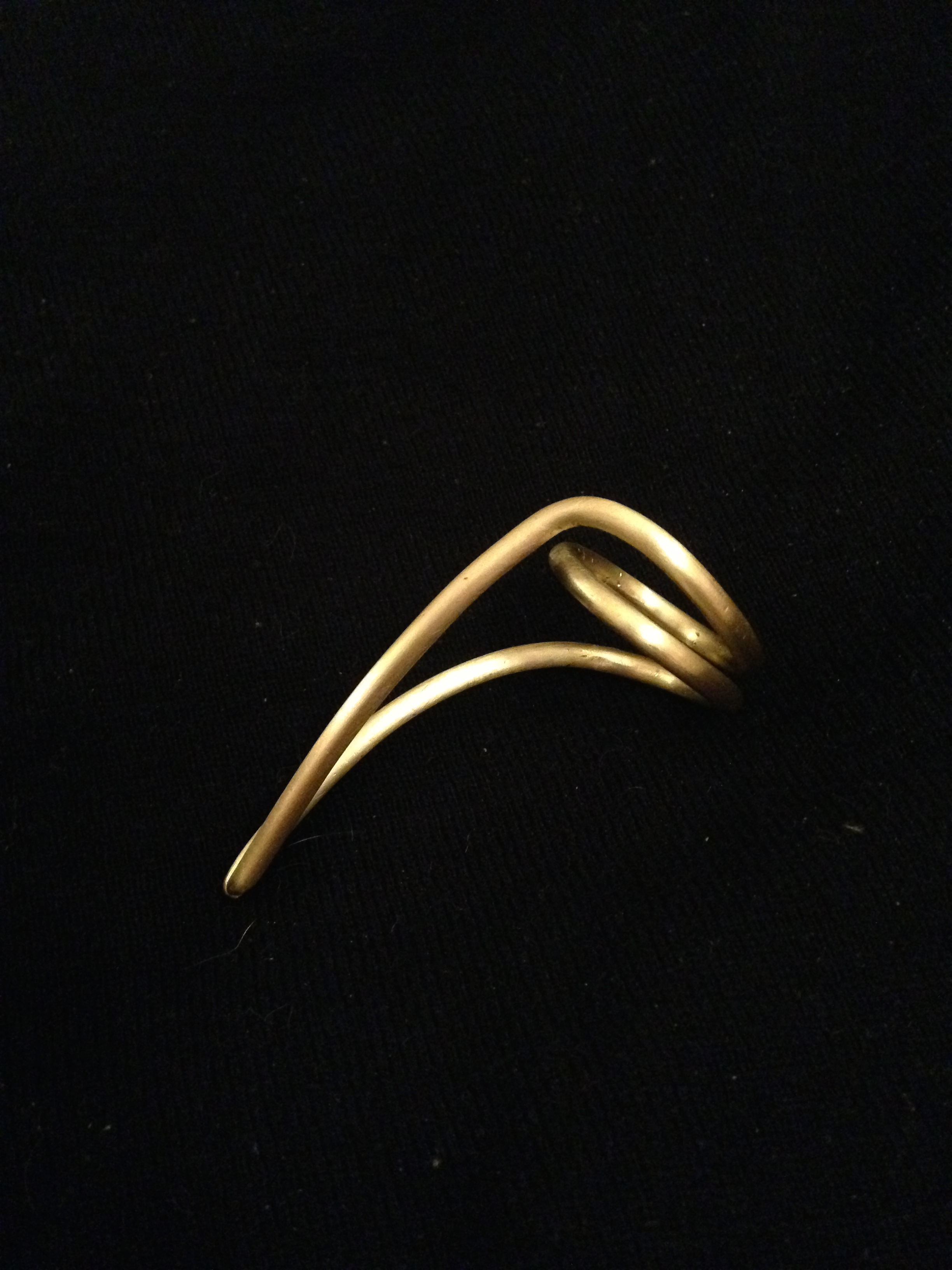 sleek spine ring