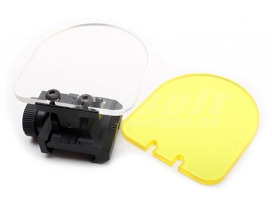 Ochrané sklíčko před optiky a kolimátory