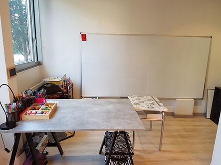 Zone de travail, Grapho45, Valérie Coilbeau