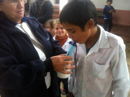 Future Kind Delivers LifeStraws to Schools in Paraguay.