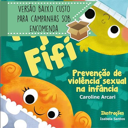 Livro PIPO E FIFI versão campanha