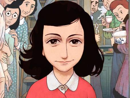 Anne Frank escreve sobre educação sexual em páginas secretas